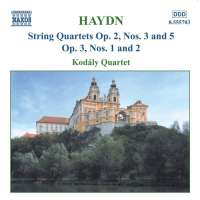 HAYDN: String Quartets op. 2