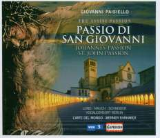 Paisiello: Passio di san Giovanni  (St John Passion)