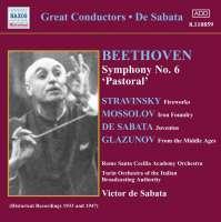 De Sabata Conducts Beethoven's Symphony No. 6