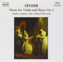 SPOHR: Music for Violin and Harp, Vol. 1