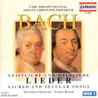 CPE/JCF Bach: Sacred and Secular Lieder