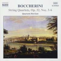 BOCCHERINI: String Quartets op.32, nos.