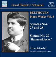 Beethoven: Piano Works, Vol. 8
