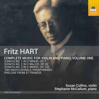 Hart: Complete Music for Violin and Piano Vol. 1