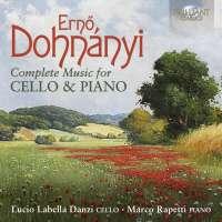 Dohnányi: Complete Music for Cello & Piano