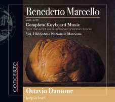 Marcello: Complete Keyboard Music Vol. 1