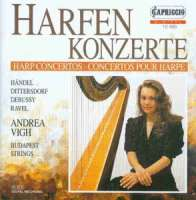 Andrea Vigh plays Dittersdorf and Debussy