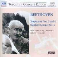 Beethoven: Symphony Nos. 2 & 4