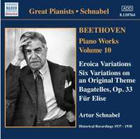 Beethoven: Piano Works, Vol. 10