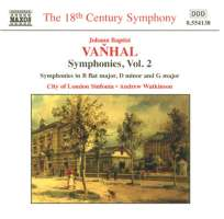 VANHAL: Symphonies Vol. 2