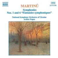 MARTINU: Symphonies nos. 1 & 6