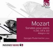 """Mozart: Sonates pour piano K.330, 331 """"Alla turca"""" & 333"""