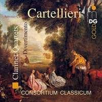 Cartellieri: Clarinet Quartets Nr.3 & in D vol. 2