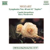 Mozart: Symphonies no. 40 & 41