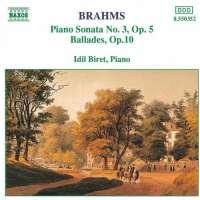 Brahms: Piano Sonata