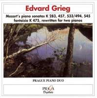 Mozart/Grieg: Piano Sonatas (rewritten for two pianos)