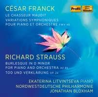 Franck; Strauss: Piano Works