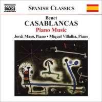 CASABLANCAS: Piano Music