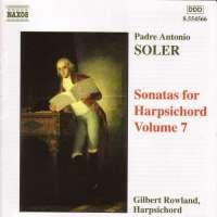 SOLER: Sonatas for Harpsichord, Vol. 7