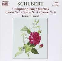 SCHUBERT: Complete String Quartets vol. 4