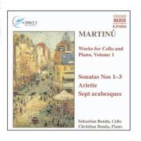MARTINU: Works for Cello vol. 1
