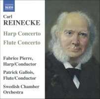 REINECKE: Flute Concerto; Harp Concerto; Ballade