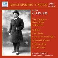 Enrico Caruso:The Complete Recordings Vol.10