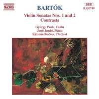 BARTOK: Violin Sonatas Nos. 1 & 2