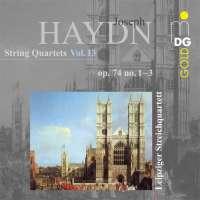 Haydn: String Quartets Vol. 18 - op. 74, nos. 1, 2 & 3