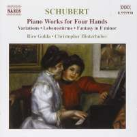 SCHUBERT: Piano Works for Four Hands, Vol. 4
