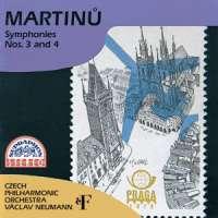 Martinů: Symphonies Nos. 3 & 4