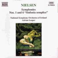 NIELSEN: Symphonies nos. 1 & 6