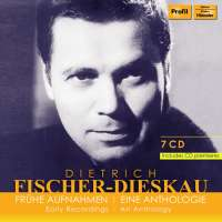 Dietrich Fischer-Dieskau - Early recordings, an anthology
