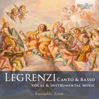 Legrenzi: Canto & Basso - Vocal & Instrumental Music
