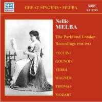 Nellie Melba - The Paris and London Recordings (1908-1913)