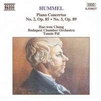 HUMMEL: Piano Concertos vol. 1