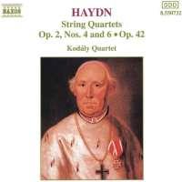 HAYDN: String Quartet op. 2 & 42