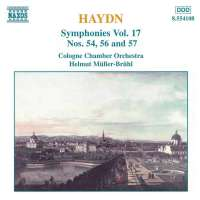 HAYDN: Symphonies nos. 54, 56, 57