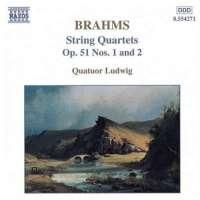 BRAHMS: String Quartets op.51