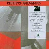 Boesmans: Violin Concerto, Piano Concerto & Conversions