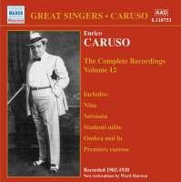 Enrico Caruso:The Complete Recordings Vol.12