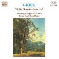 GRIEG: Violin Sonatas nos. 1 - 3