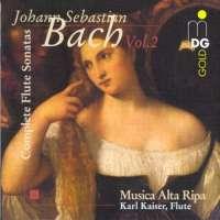 Bach: Complete Flute Sonatas vol. 2