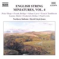 ENGLISH STRING MINIATURES vol. 4