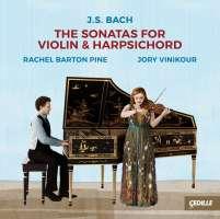Bach: Sonatas for violin & harps