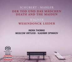 Schubert: String Quartet No. 14 ( Death and the Maiden ) / Wagner: Wesendonck Lieder / Mahler: