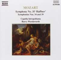 Mozart: Symphonies 34, 35 & 39