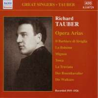 Richard Tauber - Opera Arias Vol.1
