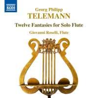 Telemann: 12 Fantasies for Solo Flute