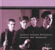 Mendelssohn/Schumann/Wolf: String Quartets